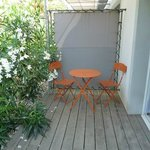 Terrasse d'une chambre Confort terrasse