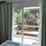 Vue d'une chambre Confort  terrasse