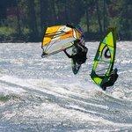 Windsurfing at the Hatchery