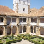 Across the cloisters