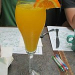 The Best Mimosa at The Mad Batter