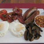 Bad boy breakfast!