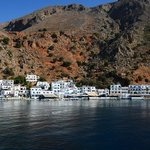 Loutro in the early mornung hours