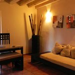 Living room, chalet