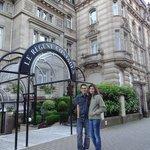 Fachada do Hotel Le Regent Contades