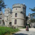 le chateau vu du parc