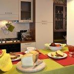 Cucina e zona colazione