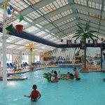 the indoor waterpark