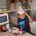 another diner pick-cute hat they give kids