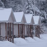 4 beautiful cabins