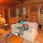 Living Room - 2 bedroom cabin
