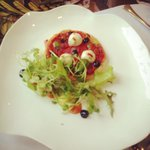 Starter: Boilie Goats Cheese Pizza