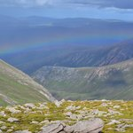 On top of the Cairngorms that day and the silver lining was Gordons Tearoom