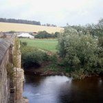 The view from Kerne Bridge, just outside the Inn, upstream