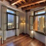 Top floor suite