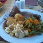 Lovely Sunday roast