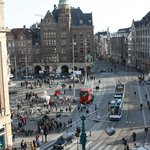 View from room toward Dam Square