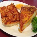 Quiche and hash town