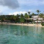 View of beach & resort