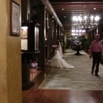 hotel is clearly bride central