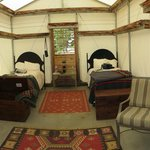 Twin Bedded cabin - very large