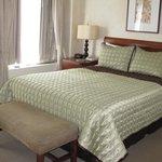 Hard queen bed