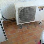 climatisation non fonctionnelle a manipulée avec bcps de precaution