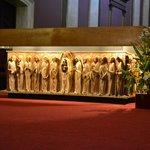 Detalhes do altar.