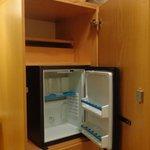 Mueble bar dentro del armario
