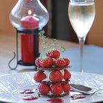 gourmandise de fraises