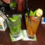 links Mojito, rechts Sun-of-a-Beach