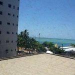 vista do quarto do hotel sete coqueiros
