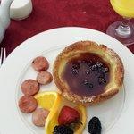 Breakfast was quite good!