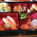 Sashimi lunch box