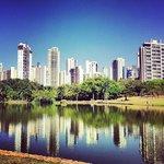 Reflexos da tarde no Parque Vaca Brava
