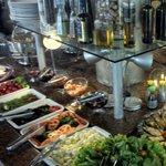 Buffet de Saladas e Frutos do mar