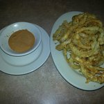 Onion Ring Appetizer with Remoulade