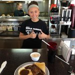 """Moe's Diner Meatloaf Plate & Server """"Jennifer"""""""