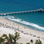 Our award winning beach and 1,200 foot public fishing pier open 24 hours a day!