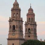 La Catedral de Morelia desde el Hotel