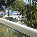 del balcon hacia la piscina superior