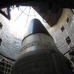 Titan II (oefenmodel) in de silo