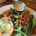 The best part of the meal. Good Peppercorn Ranch dressing
