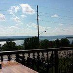 The view was pretty.