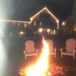 Bonfire on our last night!  FUN!