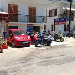 Rental car/scooter place in Skiathos