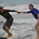 Surfing!  Ask for Tito at Uvita Surf Camp