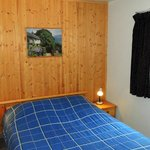 Bedroom in the cottage, queen size bed