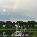 Beautiful rainbow after a beautiful day!