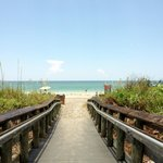 Getting on to Englewood Beach